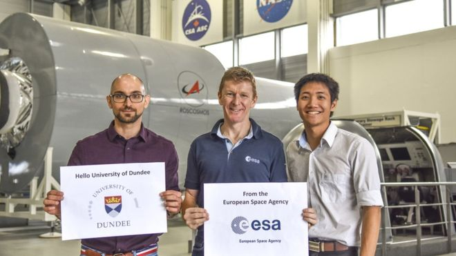 Dundee University students get taste of space medicine